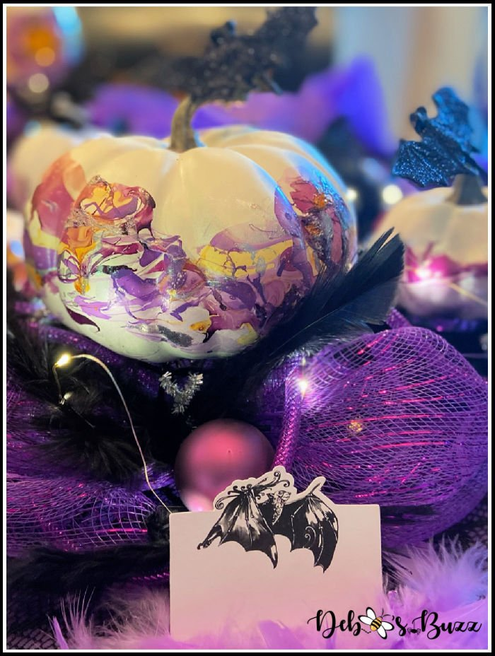 Halloween-bat-place-card